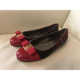 Salvatore Ferragamo - フェラガモ  バレエシューズ フラット パンプス 靴