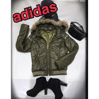 アディダス(adidas)の美品 adidas(ダウンジャケット)