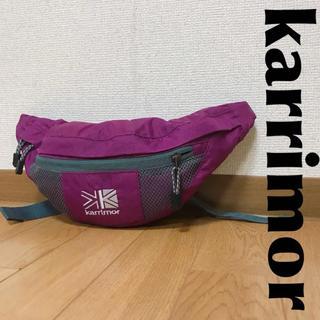 karrimor カリマー ウエストバッグ ロゴ柄 0911