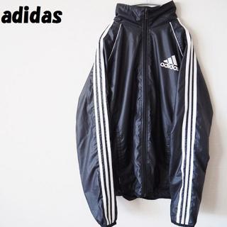 アディダス(adidas)の【人気】アディダス ジャケット アームライン パフォーマンス ブラック サイズL(ナイロンジャケット)