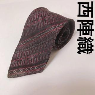 ニシジン(西陣)の西陣織 ネクタイ 細身 奇抜 総柄 和装 0911(ネクタイ)