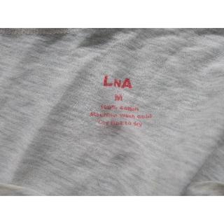 エルエヌエー(LnA)のLNA カットソー ベージュ(Tシャツ(半袖/袖なし))