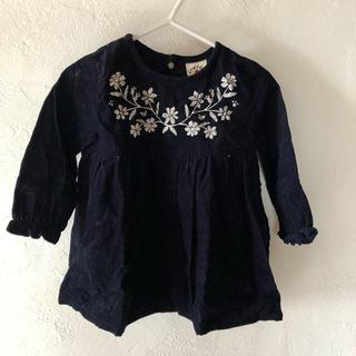 シマムラ(しまむら)のチュニック コーデュロイ布地  95サイズ(Tシャツ/カットソー)