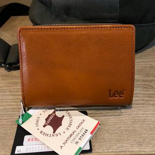 df7b6f75195470 リー(Lee)の☆ 二つ折り財布 カジュアル 牛革 本革 0520266 チャ カラー