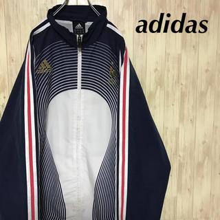 アディダス(adidas)の美品 adidas ナイロンジャケット (ナイロンジャケット)