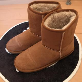 ジーユー(GU)のムートンブーツ XL(ブーツ)