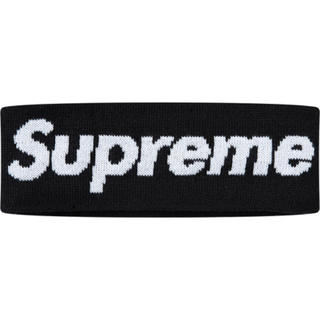 シュプリーム(Supreme)のSupreme New Era Big Logo Headband(Black)(その他)