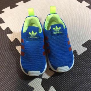 アディダス(adidas)のアディダス メッシュ スリッポン 14センチ(スニーカー)