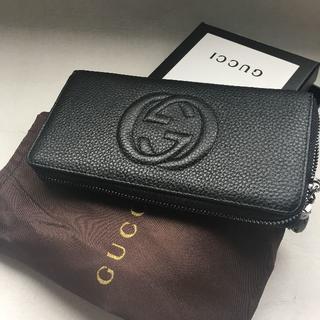 Gucci - ビジネス長財布 グッチ ブラック ダブルーG