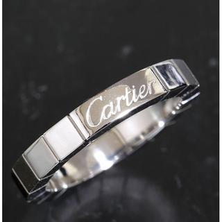 カルティエ(Cartier)のカルティエ cartier ラニエール リング size47 K18WG(リング(指輪))