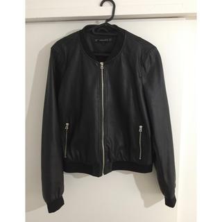 ZARA - ZARA 使いやすいジャケット ブラック