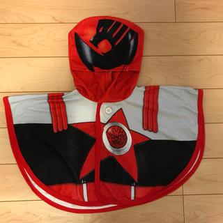 バンダイ(BANDAI)のキュウレンジャー シシレッドの変身マント 100〜120cm(衣装)