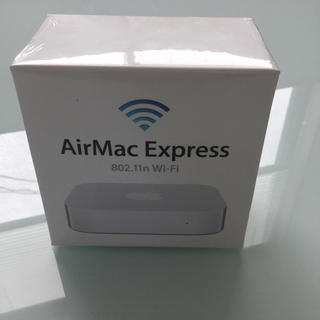 Apple MC414J/A AirMac Express(新品・未開封品)(PC周辺機器)