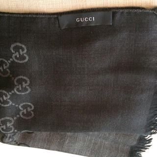 グッチ(Gucci)のグッチ 大判ストール  男女 美品  9600円(ストール)
