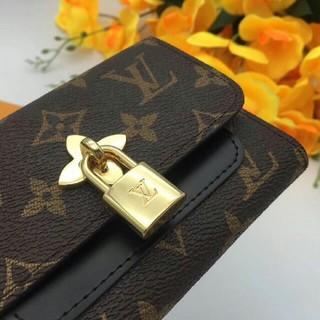 LOUIS VUITTON - ルイ・ヴィトン折り財布 レディース財布 二つ折り モノグラム ブラック/茶色