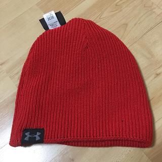 アンダーアーマー(UNDER ARMOUR)のニット帽(ニット帽/ビーニー)