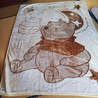 ディズニー(Disney)の新品 シングル 毛布 プーさん(毛布)