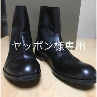 パドローネ(PADRONE)のPADRONE パドローネバックジップブーツ(ブーツ)
