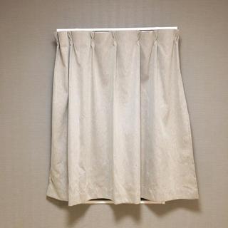 ムジルシリョウヒン(MUJI (無印良品))の無印良品 カーテン  幅100×丈105cm(カーテン)