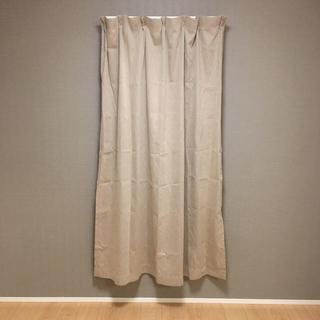 ムジルシリョウヒン(MUJI (無印良品))の無印良品 カーテン 幅100×丈178cm(カーテン)