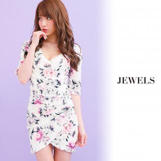 ジュエルズ(JEWELS)のJEWELS花柄ドレス(ナイトドレス)