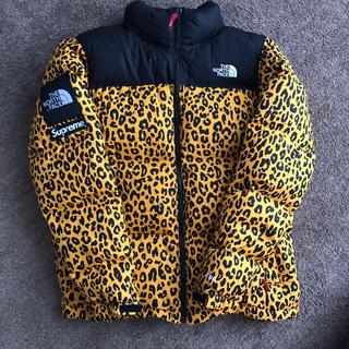 Supreme - Supreme 11AW Leopard Nuptse Down Jacket