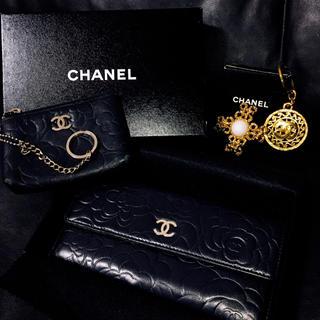 CHANEL - 【4点セット】CHANEL 財布 コインケース ブローチ キーリング