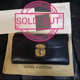 LOUIS VUITTON - ルイヴィトン マヒナ財布