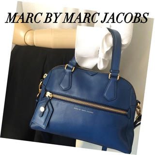 マークバイマークジェイコブス(MARC BY MARC JACOBS)の良好‼️MARC BY✨斜めがけ⭕️レザー2wayバッグ❤️(送料込)(ショルダーバッグ)