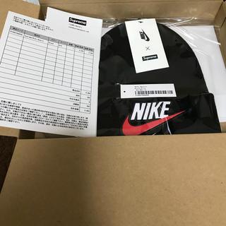 Supreme - Supreme Nike Beanie Black 黒