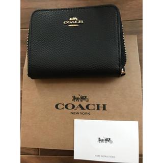 COACH - COACH F24808 二つ折り財布!大人気!残り1つ!即発送!