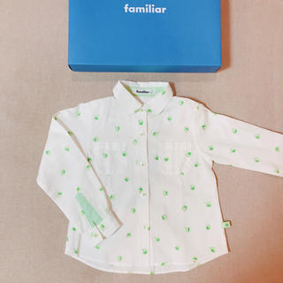 familiar - ファミリア シャツ ブラウス 極美品