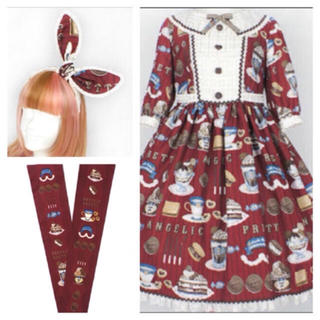Angelic Pretty - Cream cookie parade 3点セット Angelic pretty