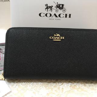 COACH - プレゼントにお勧め❣️COACH  コーチ 长财布 アウトレット正規品 箱付き