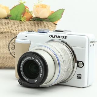 OLYMPUS - ★人気のホワイトボディ★インスタアップやシェアも楽々★オリンパス E-PL1s