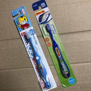 サンスター(SUNSTAR)の子供用  歯ブラシ  2本(歯ブラシ/歯みがき用品)