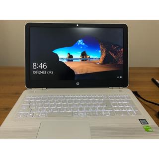 HP - pc hp ノートパソコン 美品 ホワイト テンキー i7