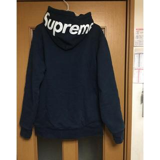 Supreme - Supreme hood logo thermal zip up フードロゴ