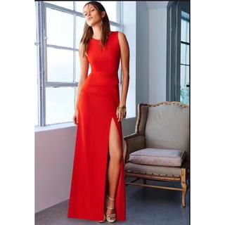 ビーシービージーマックスアズリア(BCBGMAXAZRIA)の2018新作BCBGマックスアズリア高級赤ロングドレス(ロングドレス)