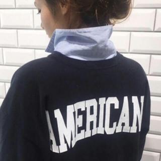 アメリカーナ(AMERICANA)の美品 アメリカーナ スウェット トレーナー(トレーナー/スウェット)