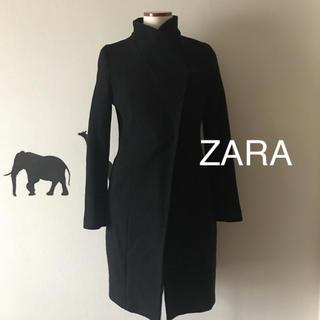 ZARA - ZARA 細美でデザインが綺麗な 立ち襟 コート S