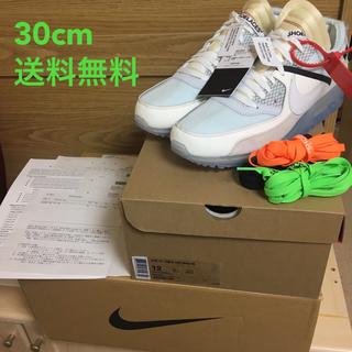ナイキ(NIKE)のOff-White Nike Air Max 90 30cm 12 レア 新品(スニーカー)