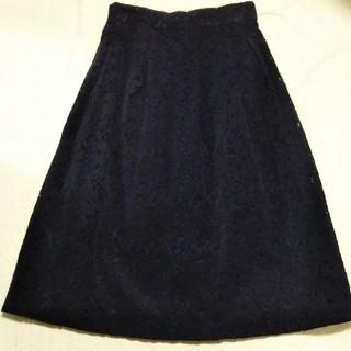 テチチ(Techichi)の花レーススカート(ひざ丈スカート)