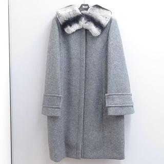 ルネ(René)のルネのコート レッキスの襟付き  (ロングコート)
