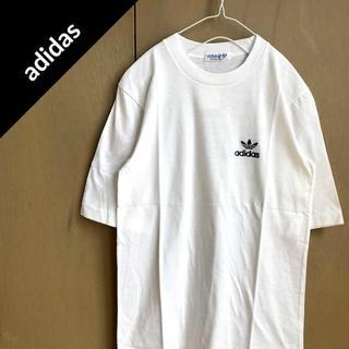 アディダス(adidas)のアディダス 【1974-83's】 ワンポイントロゴ Tシャツ デッドストック(Tシャツ/カットソー(半袖/袖なし))