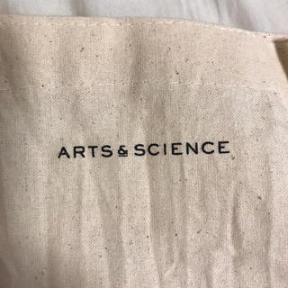 ヤエカ(YAECA)の★新品★arts&science アーツアンドサイエンス ショッパー エコバッグ(トートバッグ)