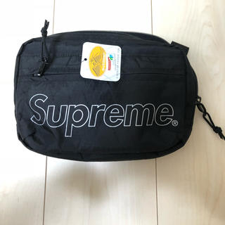 シュプリーム(Supreme)の supreme 18aw ショルダーバッグ 黒 新品(ショルダーバッグ)