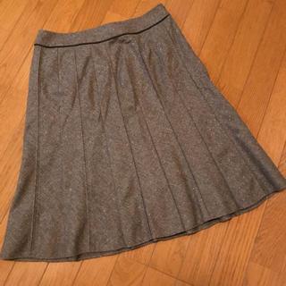 ニジュウサンク(23区)の23区 ミモレ丈スカート 大きいサイズ(ひざ丈スカート)