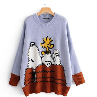 ZARA - スヌーピー オーバーサイズ セーター