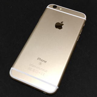 iPhone - 【バッテリー新品】SIMフリー☆iPhone6s 64GB ゴールド